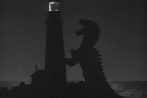 Scene from The Beast From 20,000 Fathoms. Photo credit: Wikimedia Commons