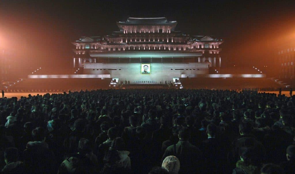 kim jong-il North Korea funeral