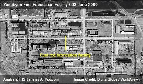 Yongbyon Fuel Fabrication Facility | 03 June 2009