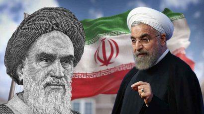 Supreme Leader Ayatollah Ali Khamenei and Iran President Hassan Rouhani