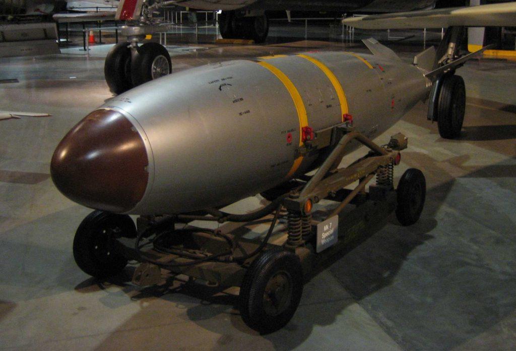 nuclear risk - nuclear weapons - Mark 7 nuclear bom