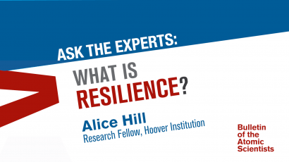 A primer on resilience