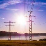 Power cable distribution energy grid