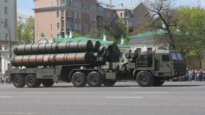 The Russian S-400 anti-aircraft system, pictured in 2017.. Source: Соколрус, via Wikimedia