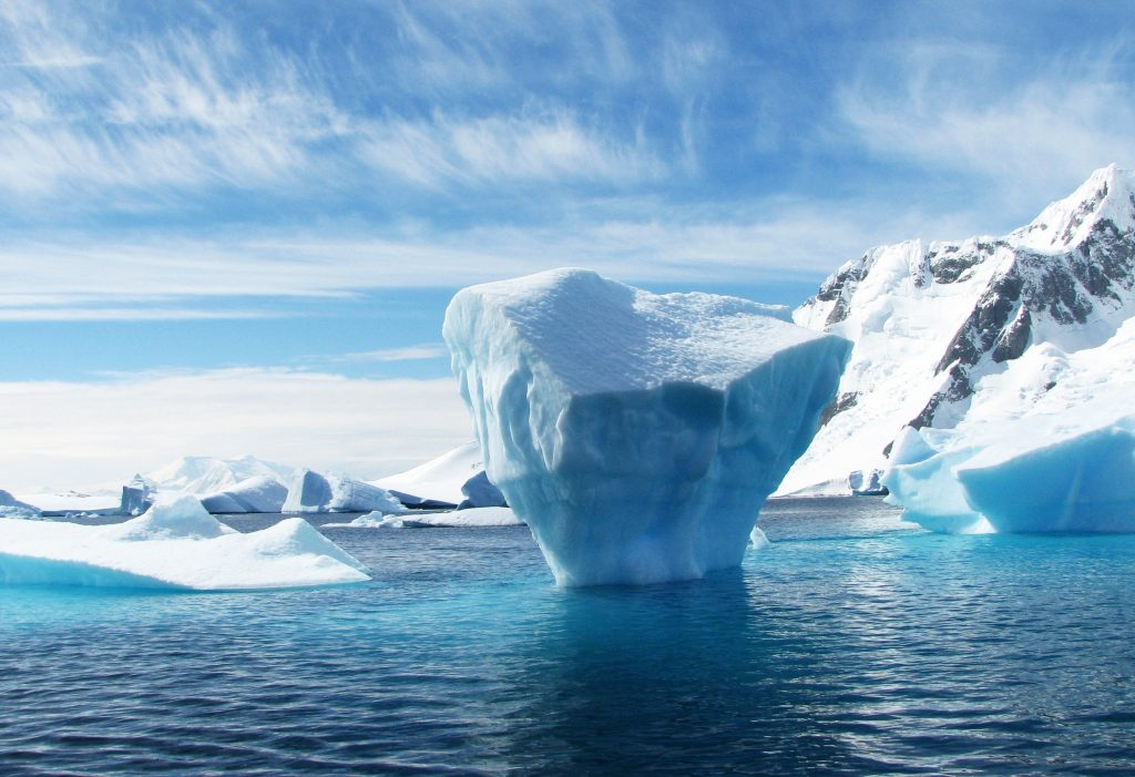 Image result for images of glaciers melting in north