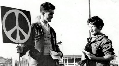peace symbol march 1958