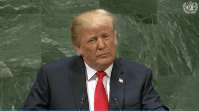 Donald trump united nations general assembly speech