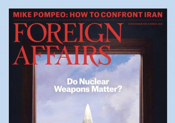 Foreign Affairs magazine cover