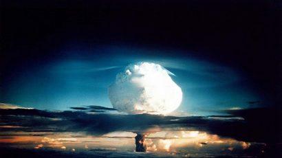 mushroom cloud, hydrogen bomb