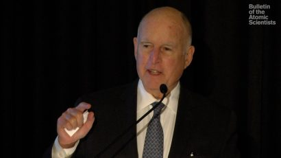 governor Jerry Brown 2018 annual meeting
