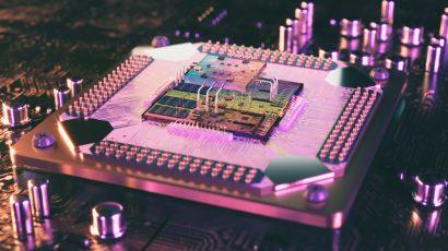 A quantum processor.