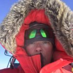 NASA scientist Kelly Brunt Antarctica