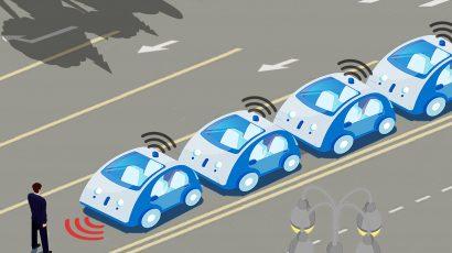 autonomous driverless vehicles road rage Tiananmen Square