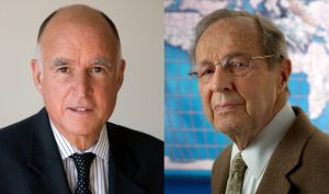 Jerry Brown and William Perry write CNN op-ed marking 2019 Doomsday Clock announcement.