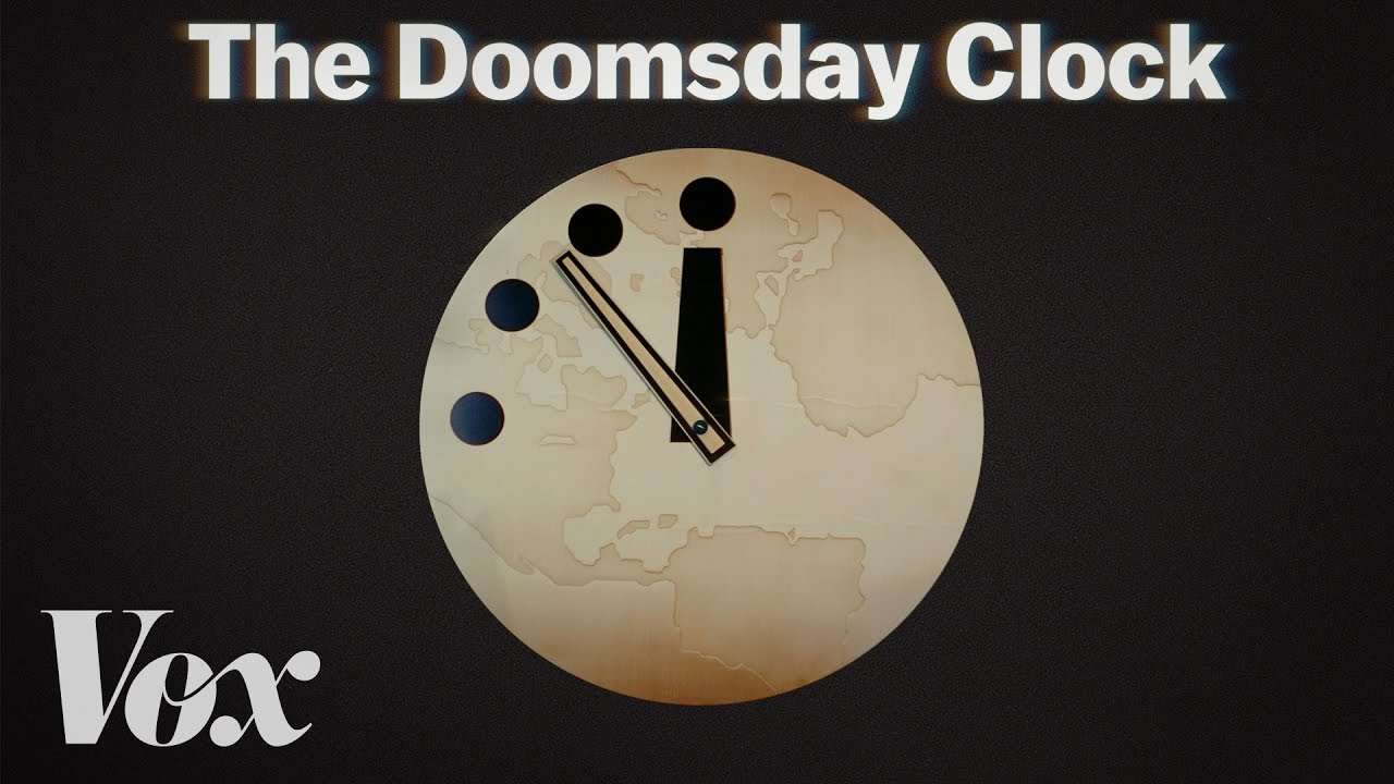 Still from Doomsday Clock explainer by Vox.com