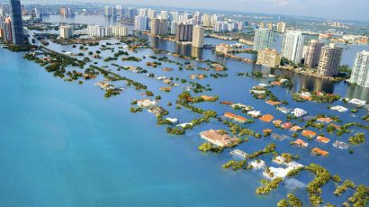 artist's conception Miami sea rise