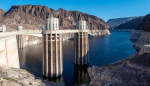 Water levels in Lake Mead at the Hoover Dam in Nevada have hit an all-time low. Photo by Ted Wood.