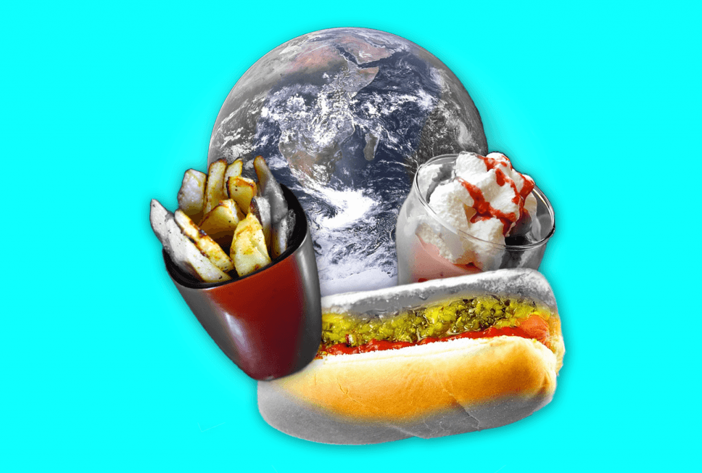 Overweight and underwater: obesity and climate change