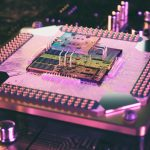 3D rendering of a quantum processor. Credit: Shutterstock