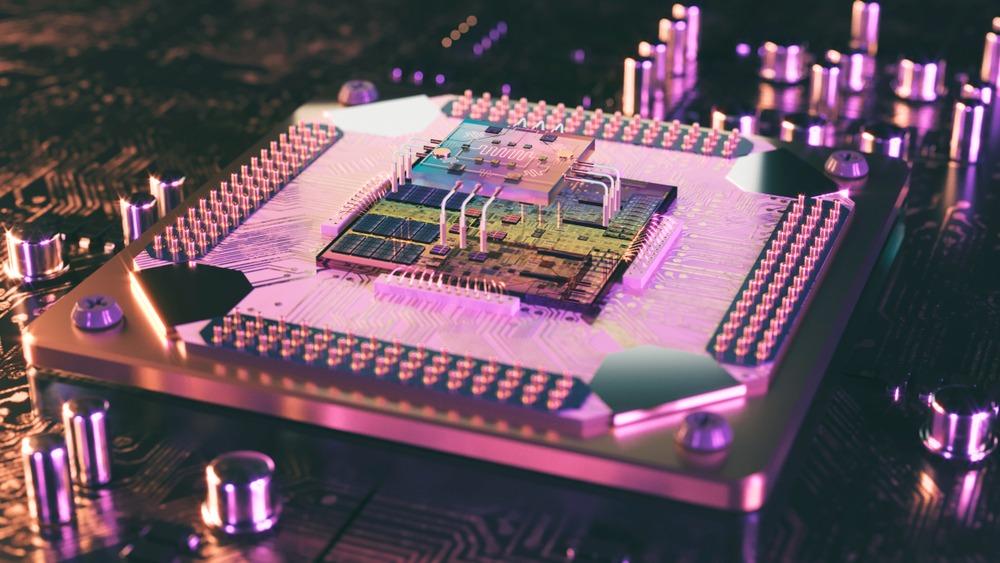 3D rendering of a quantum processor. Credit: Shutterstock