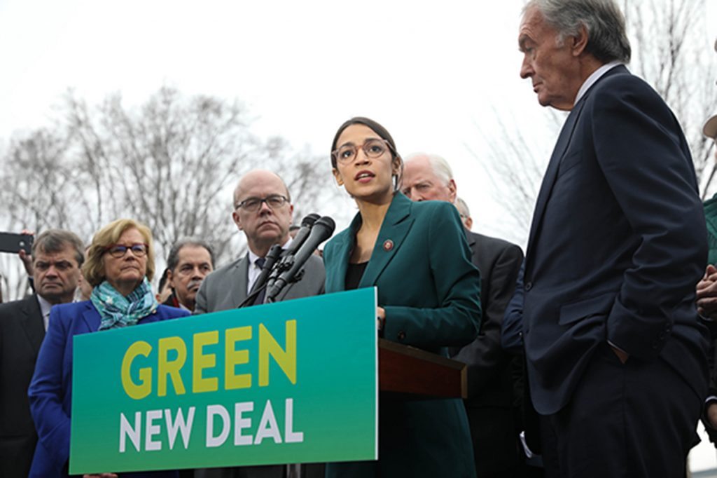 Green New Deal sponsors