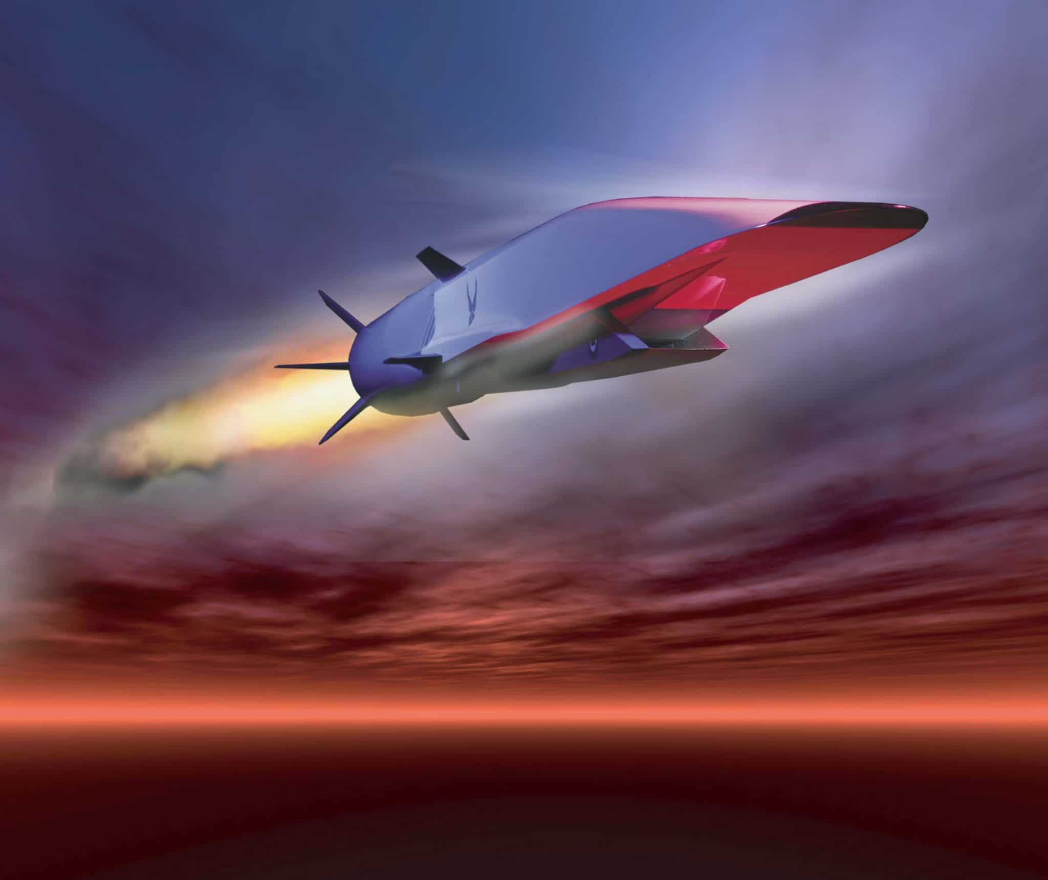 The unmanned Boeing X-51A Waveriders was built as a technology demonstrator for the Air Force, to pave the way to future hypersonic weapons. Credit: US Air Force graphic
