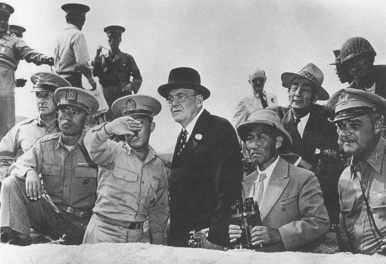 dulles korea 38th parallel 1950