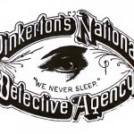 Private eye: The original logo of the Pinkerton National Detective Agency.