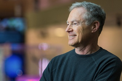 Eric Horvitz photographed at Microsoft Building 99 in Redmond, Wash. on March 30, 2017. Photo by Dan DeLong