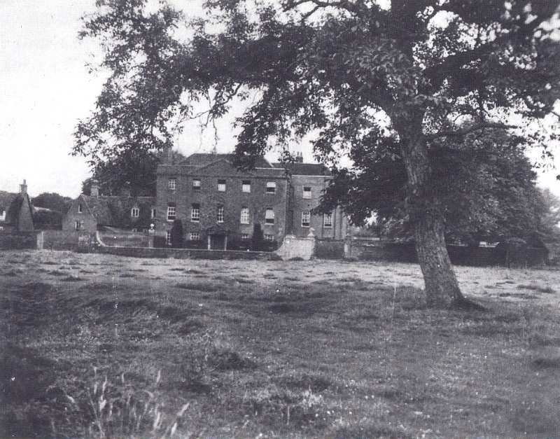 England's Farm Hall estate, where high-level German physicists captured during World War II discussed the moral implications of the Hiroshima bombing. Credit: National Archives