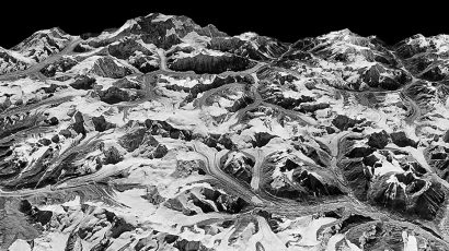 3-D model of Himalayan glaciers