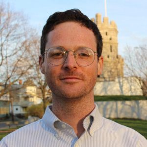 City Councilor Ben Ewen-Campen is pushing for Somerville, Mass., to ban the use of facial recognition technology by city departments. Credit: Ben Ewen-Campen.