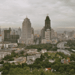 The Chinese city of Urumqi in Xinjiang. Credit: Alexander Flühmann via Wikimedia Commons. CC BY-SA 3.0.