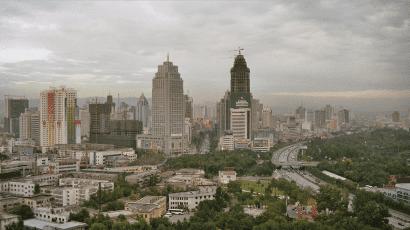 The Chinese city of Urumqi in Xinjiang. Credit: Alexander Flühmann via Wikimedia Commons. CC BY-SA 3.0.