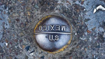 Border marker at San Ysidro, California. Credit: Josh Denmark/US Customs and Border Protection