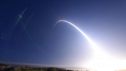 US ICBM Test