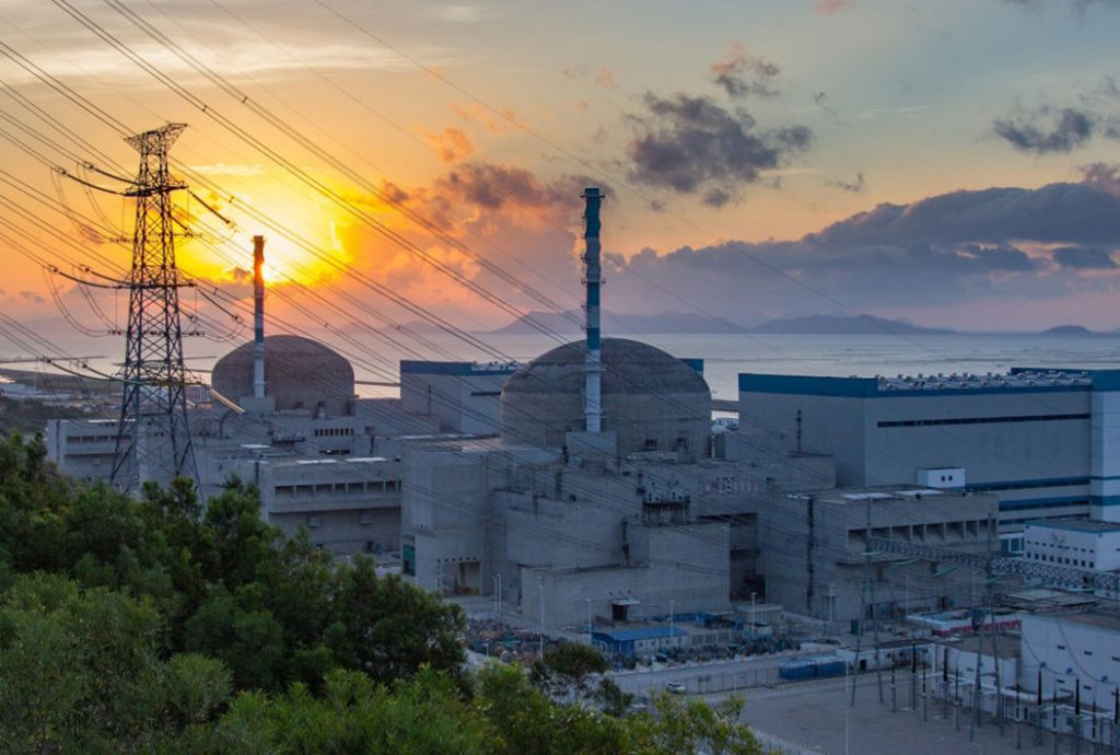 The second of two reactors at China's Taishan nuclear power plant, a Chinese-French joint venture, entered commercial operation on September 7, 2019. Credit: EDF