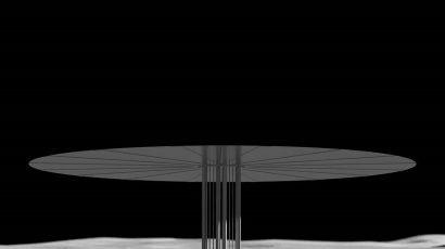 NASA kilopower moon render