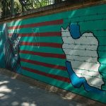 Tehran US embassy painting