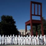 Demonstrators call on countries to ban killer robots