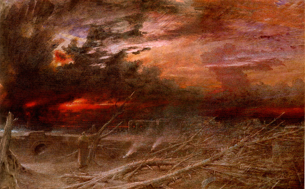 Apocalypse, a 1903 painting by Albert Goodwin