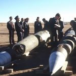 INF inspection of Pershing II missiles