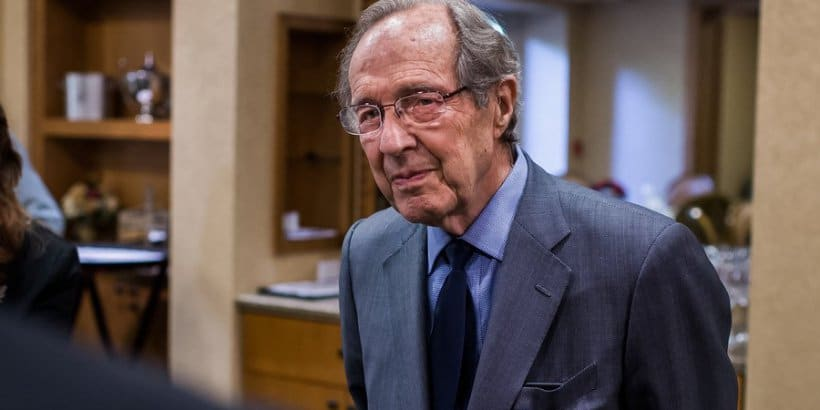 Former US Defense Secretary and current Bulletin Board of Sponsors chair William Perry