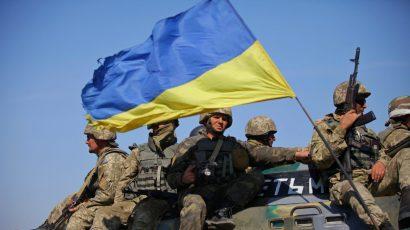 Ukrainian troops