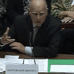 Former California Gov. Jerry Brown testifies in Congress