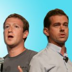 Mark Zuckerberg and Jack Dorsey.