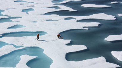 nasa arctic ice climate change