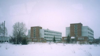 The building housing smallpox-causing virus at the VECTOR research center.