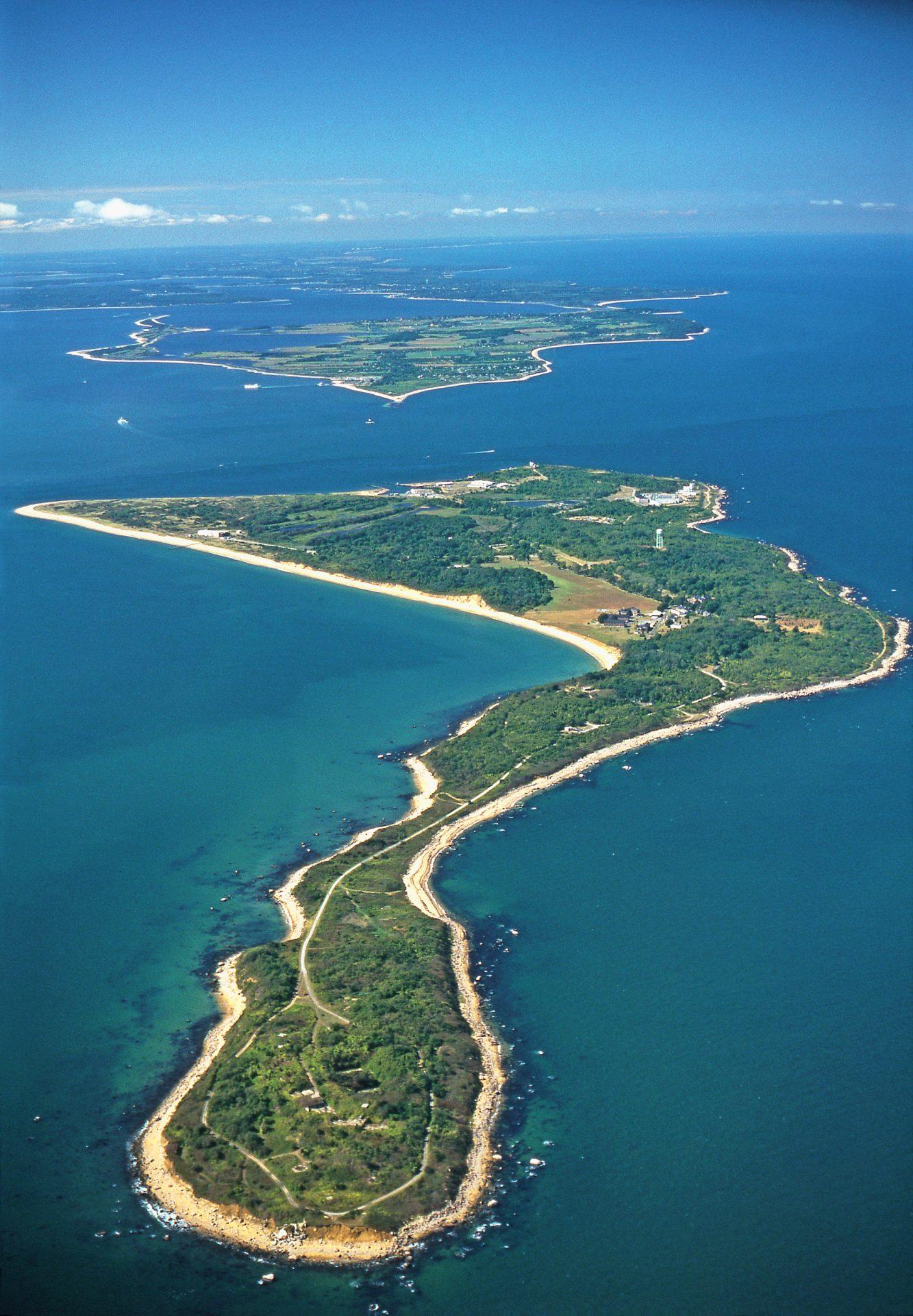 aerial view plum island