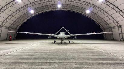 A Turkish Bayraktar TB2 drone.